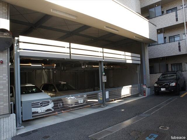 機会式の駐車場