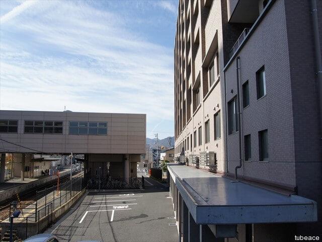 外観・長野電鉄線信濃吉田駅
