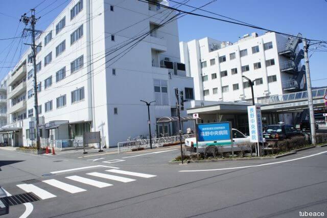 長野中央病院約980m(徒歩13分)