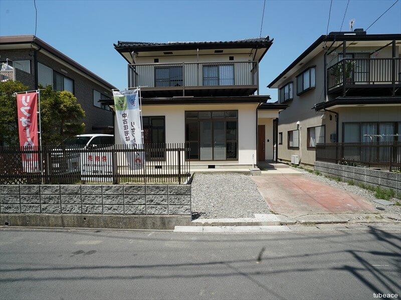 篠ノ井岡田【リフォーム済中古住宅】南面道路のコンパクトな木造2階建住宅