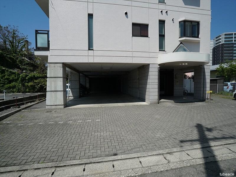 シティパル鶴賀・駐車スペース