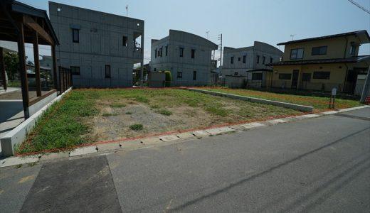 稲田4丁目【売土地】76坪の整形宅地・B区画