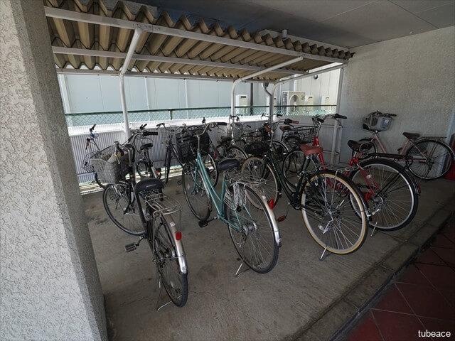 敷地内自転車置場