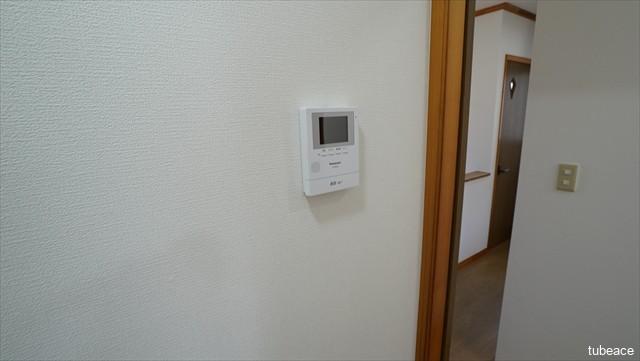 カラーモニター付ドアホン