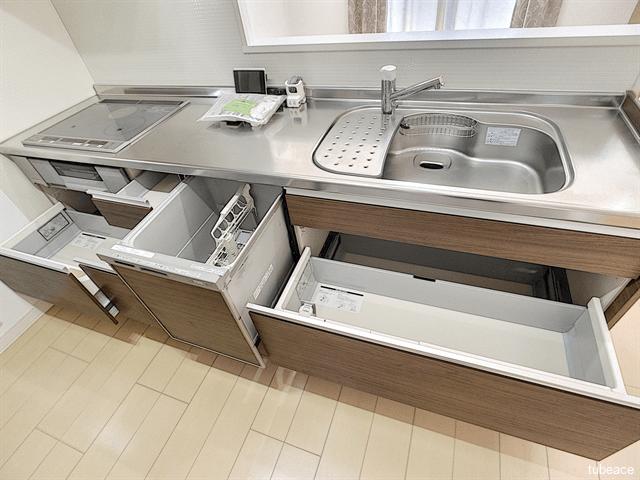 システムキッチン・食洗機付