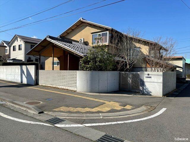 須坂市大字塩川・長者西・中古住宅・外観・東側から撮影