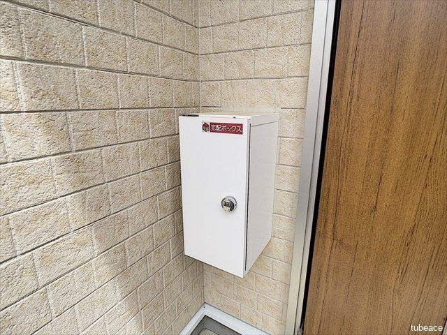不在時でも荷物の受け取りに便利な宅配ボックスを標準装備しております。