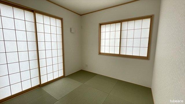 1階には約4.5帖の和室もございます。和室は1部屋あると嬉しいですね。