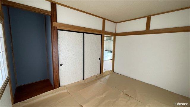和室には押入や板の間もございます。ゲストルームに利用するのも良いですね。